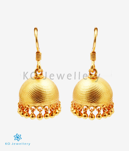 The Ukta Silver Jhumka