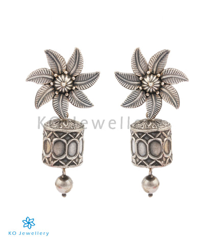 The Tarika Silver Earrings