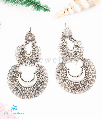 The Ananta Silver Earrings