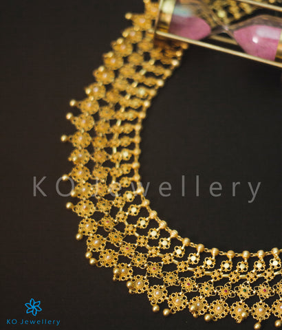 Exquisite traditional south Indian temple jewellery rani haram