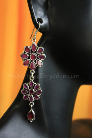 The Parineeta Earring - Ruby