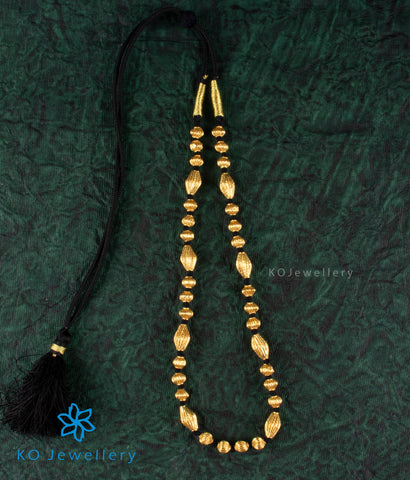 The Borimala Silver Chain (Black)