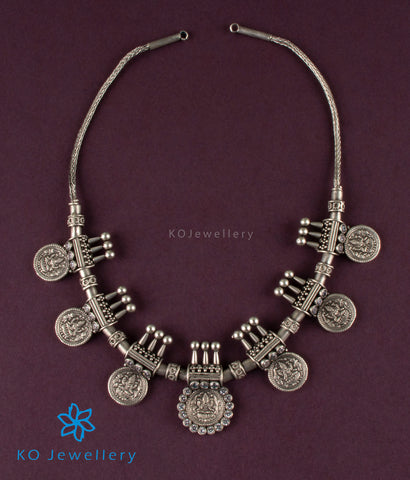 The Samruddhi Silver Kasu-mala Necklace