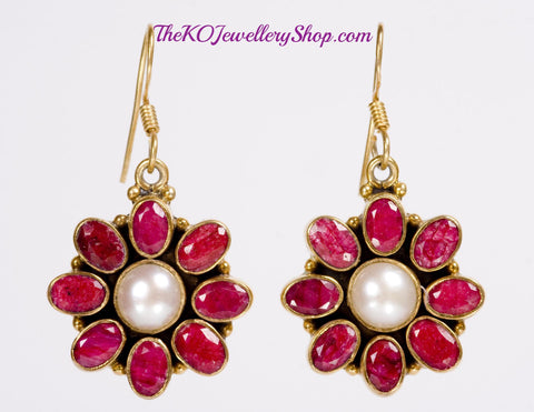 The Precious Mogra Earrings