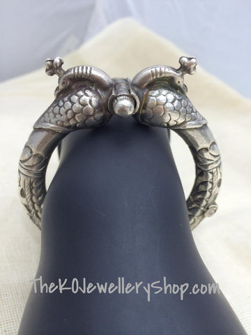 peacock silver bracelet online shopping india