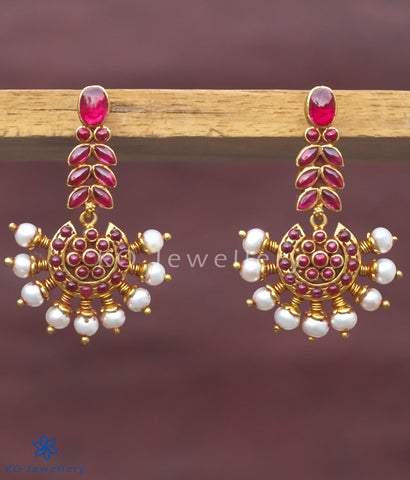 The Prajwal Silver Earrings