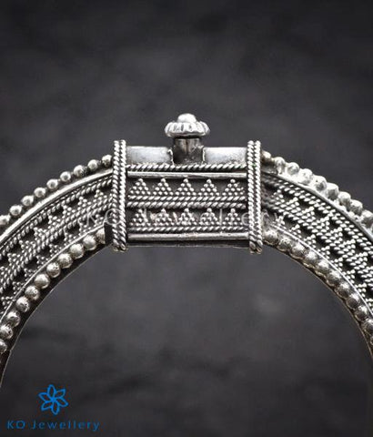 The Uddanda Antique Silver Kada (2.4)