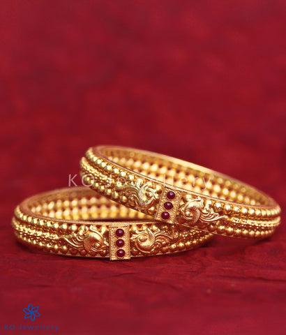 The Malhar Silver Bangle