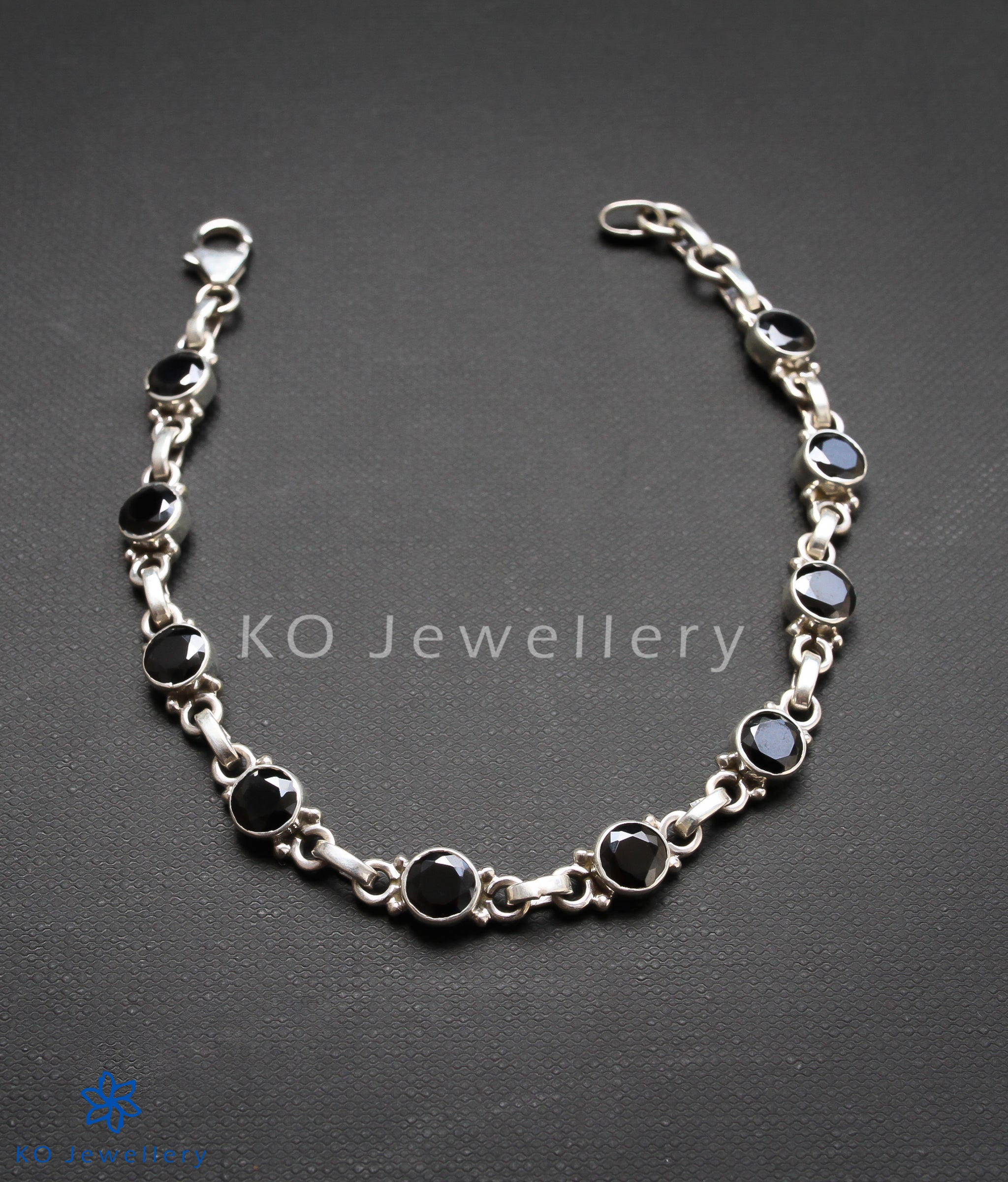 silver bracelet untitled delicate story circle products