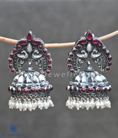 Ancient South Indian temple jewellery jhumkas