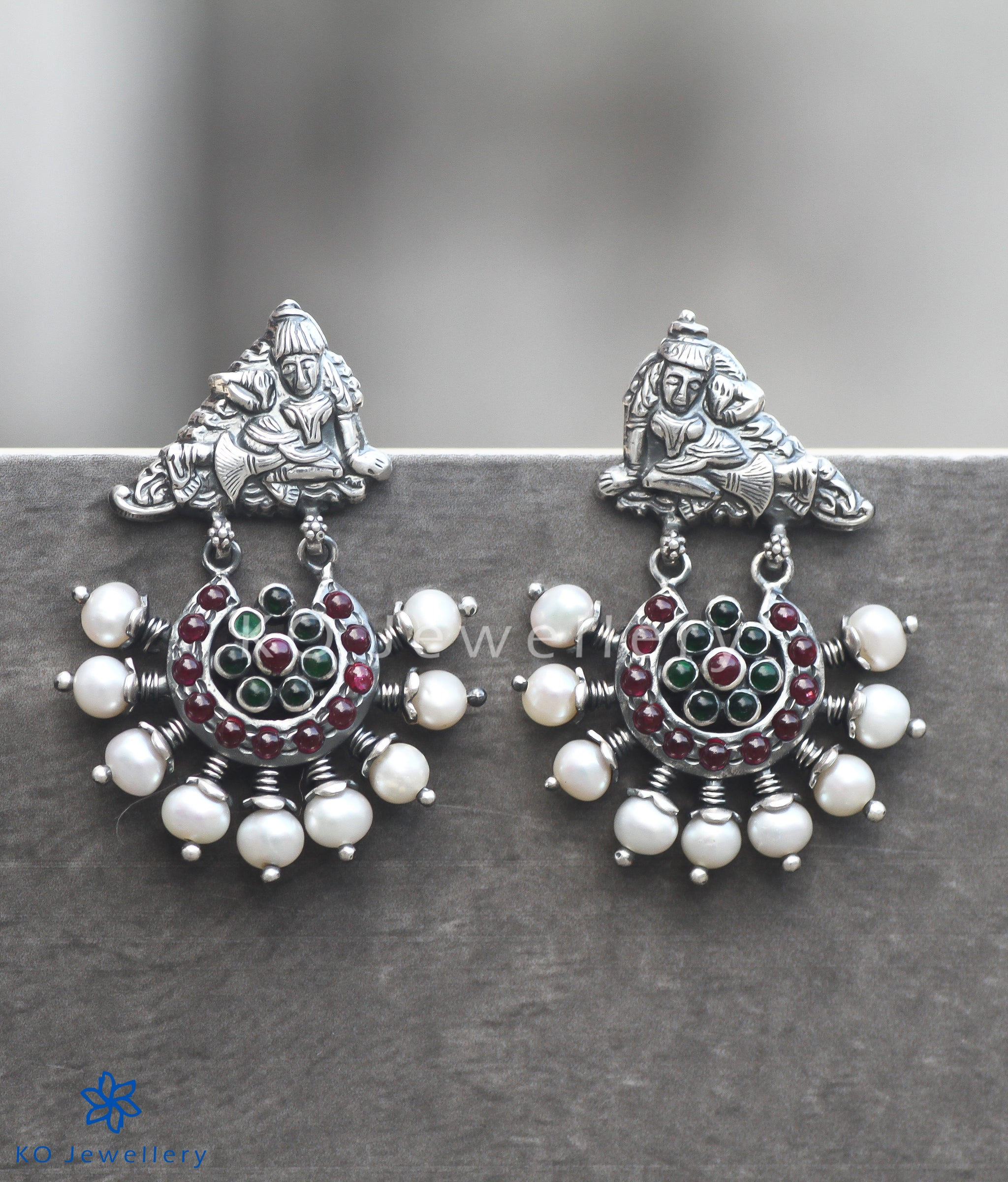crystal antique silver elements bookend earrings dangle anne pearl and ak plated koplik products with swarovski