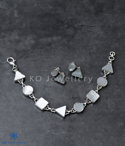 office wear fine jewellery mother of pearl bracelet
