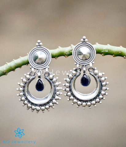 Ethnic temple jewellery earrings 92.5 silver