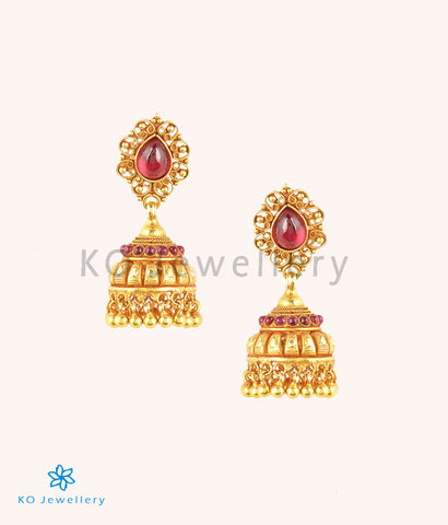 The Rishit Silver Jhumka