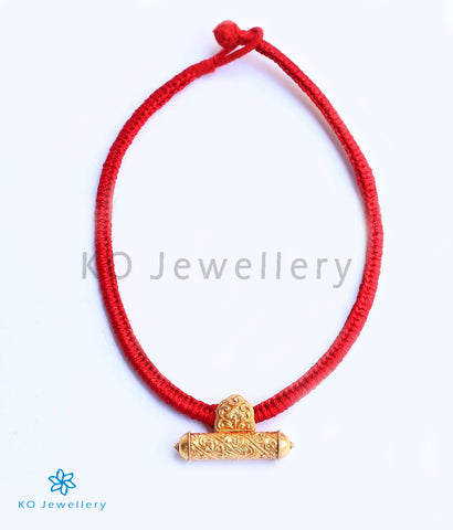 The Tanika Silver Rope Necklace(Red)