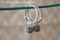 ethnic wear silver earrings for kids/women sale online