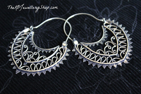 The Aamira Hoop Earrings - KO Jewellery
