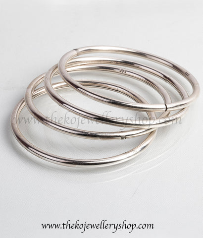 Shop online for women's silver bangle  jewellery
