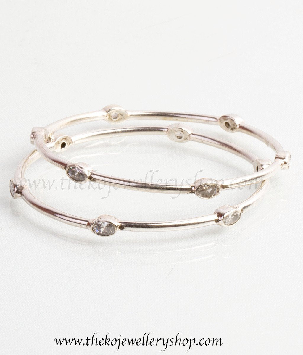 bangles narrow original audrey of bangle product set claude silver by jewellery audreyclaude