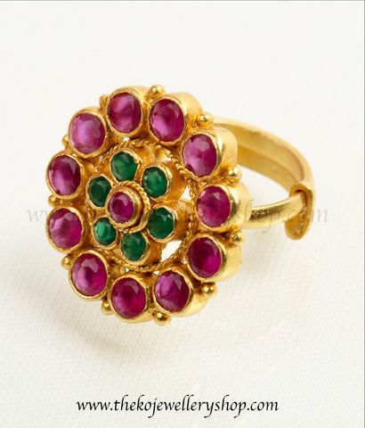 antique temple jewellery gold dipped silver finger ring shop online.