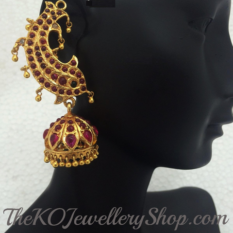 Shop online for women's silver  jhumka jewellery