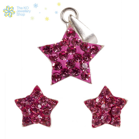 The Star Pendant Set