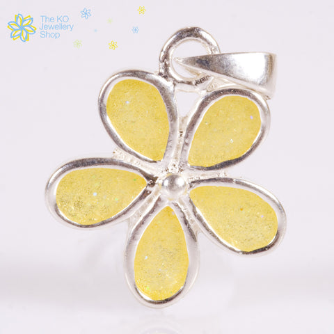 The Yellow Flower Pendant