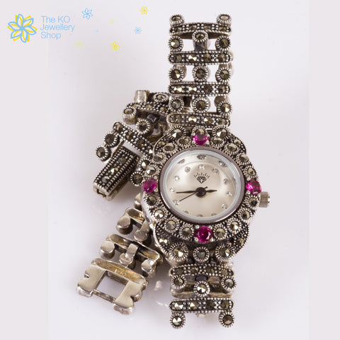 The Princess Silver watch - KO Jewellery