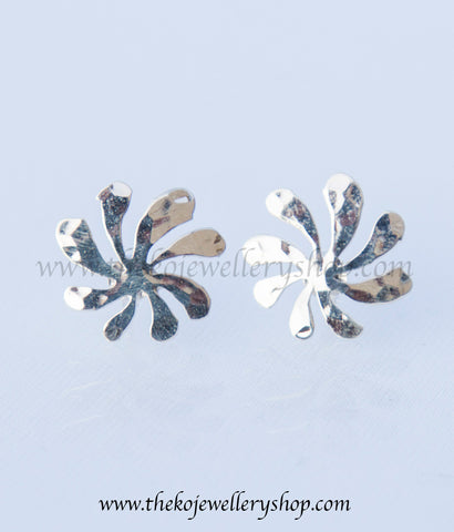 Shop online for women's silver  ear studs