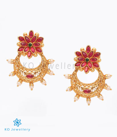 The Parag Silver Earrings