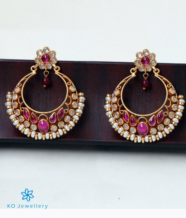 The Rasika Silver Chand Bali Earrings