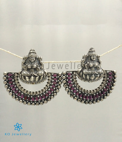 The Aparajita Silver Earrings