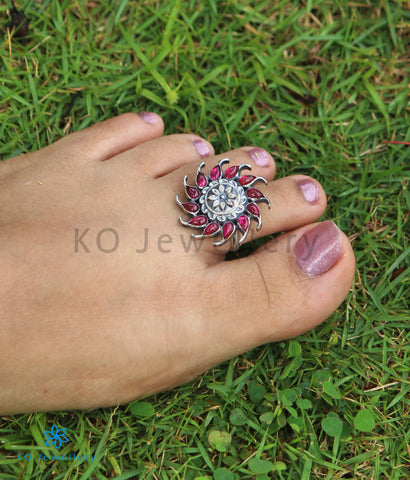 The Sarva Silver Toe-Rings