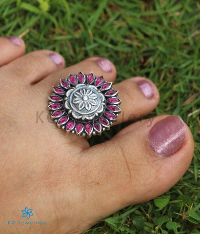 The Prerna Silver Toe-Rings