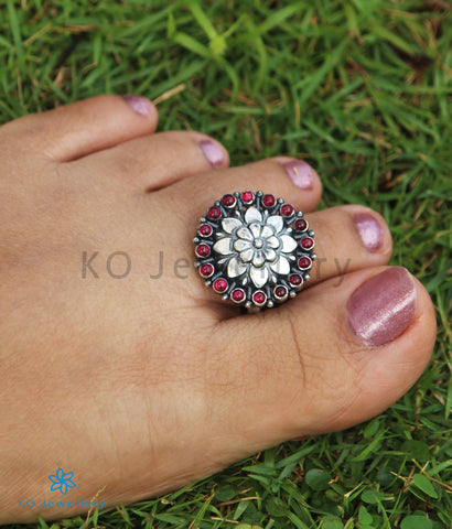 The Kamala Silver Toe-Rings