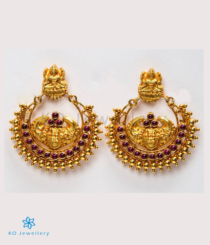The Dharaa Silver Chand-bali Earrings