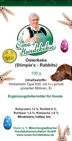 Stimpies Rabbit - unser Osterkeks!