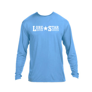 LSKS Performance Long Sleeve Shirt - White Print