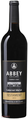 Abbey Cellars Hawke's Bay Cabernet Merlot - Wine Delivered In A Wine Gift Bag / Box - Best of the Bunch Florist Wellington
