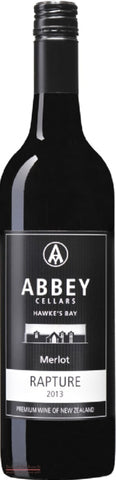 Abbey Cellars Rapture Hawke's Bay Merlot - Wine Delivered In A Wine Gift Bag / Box - Best of the Bunch Florist Wellington