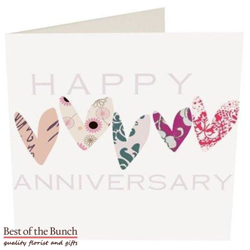 Anniversary Greeting Card - Best of the Bunch Florist Wellington