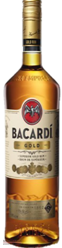 Bacardi Gold Rum Carta Oro - Best of the Bunch Florist Wellington