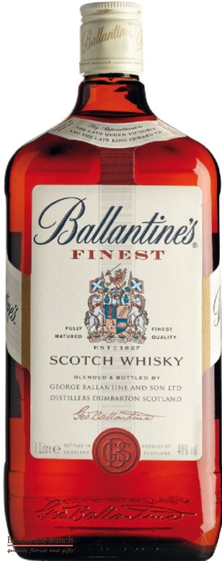 Ballantines Whisky - Blended Scotch Whisky - Delivered In A Gift Box - Best of the Bunch Florist Wellington