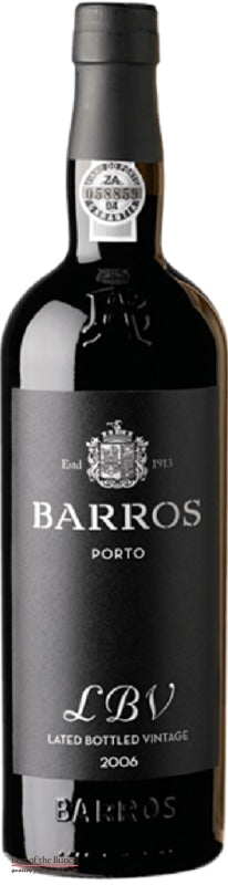 Barros Late Bottled Vintage (LBV) Port - Portugal (750ml) - Delivered In A Gift Box - Best of the Bunch Florist Wellington