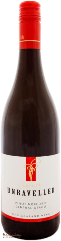 Carrick Unravelled Central Otago Pinot Noir - Wine Delivered In A Wine Gift Bag / Box - Best of the Bunch Florist Wellington