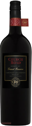 Church Road Grand Reserve Hawke's Bay Merlot Cabernet Sauvignon - Wine Delivered In A Wine Gift Bag / Box - Best of the Bunch Florist Wellington
