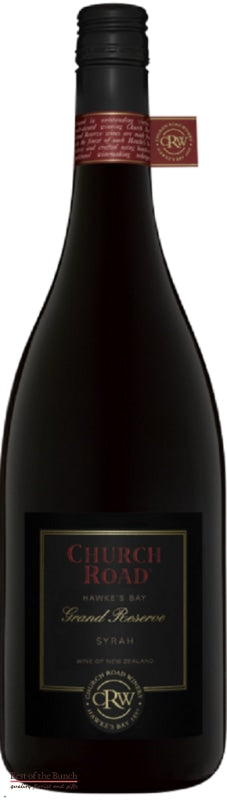 Church Road Grand Reserve Hawke's Bay Syrah - Wine Delivered In A Wine Gift Bag / Box - Best of the Bunch Florist Wellington