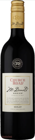 Church Road Mc Donald Series Hawke's Bay Merlot - Wine Delivered In A Wine Gift Bag / Box - Best of the Bunch Florist Wellington