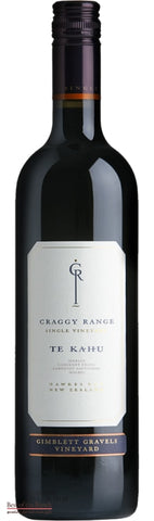 Craggy Range Hawke's Bay Merlot Cabernet Sauvignon Malbec Cabernet Franc - Wine Delivered In A Wine Gift Bag / Box - Best of the Bunch Florist Wellington