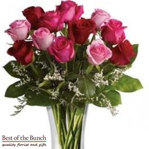 Flower Bouquet Say I Love You Roses - Best of the Bunch Florist Wellington